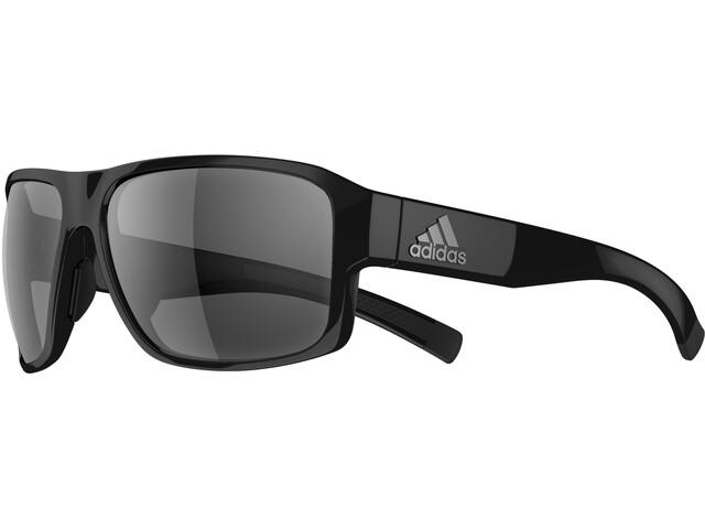 adidas Jaysor Sunglasses, black shiny/grey